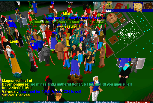 A screen capture of the Thanksgiving Bash